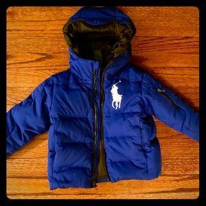 Ralph Lauren Polo Boys 2T Down Winter Coat